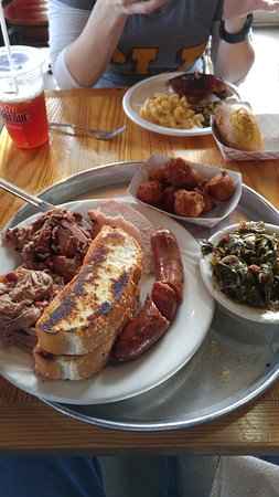 City Barbeque : city sampler