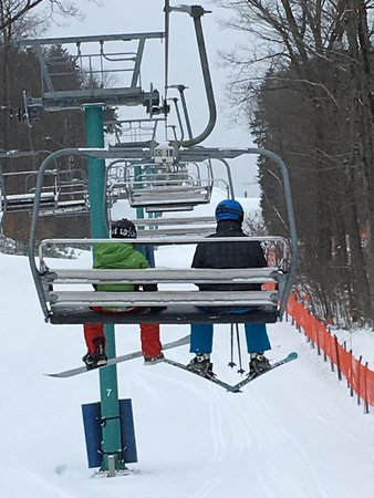 Ellicottville, NY: Conditions were good.