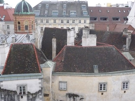 Alma Boutique-Hotel: View from rooftop terrasse