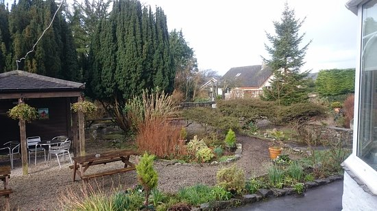 Silverdale, UK: Our garden