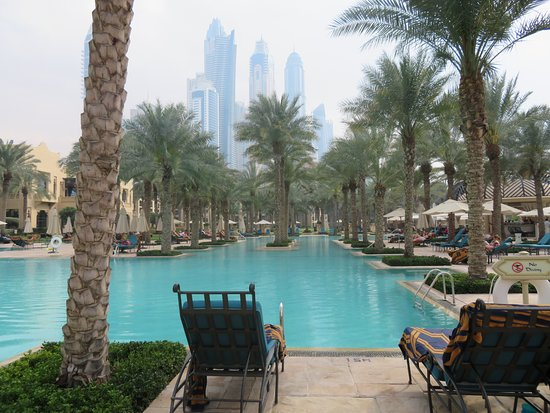 The Palace at One&Only Royal Mirage Dubai: Spectacular views. A sea of calm but close to everythig
