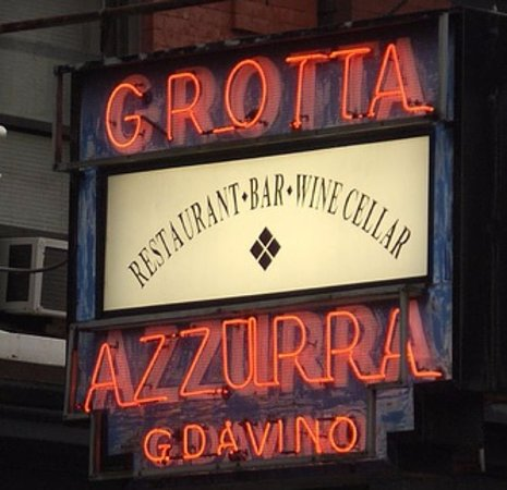 Photo of Italian Restaurant Grotto Azzurra at 177 Mulberry St, New York, NY 10013, United States