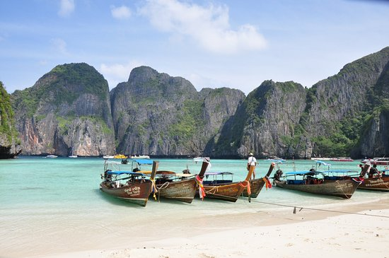 Главная бухта острова - Picture of Ko Phi Phi Le, Ko Phi Phi Don - TripAdvisor