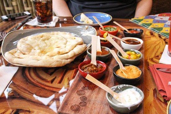 Sanaa: Indian-style Bread Service