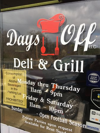 Days Off Deli and  Grill: photo8.jpg