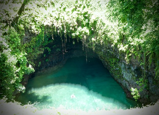 To Sua Ocean Trench: another view of the Trench