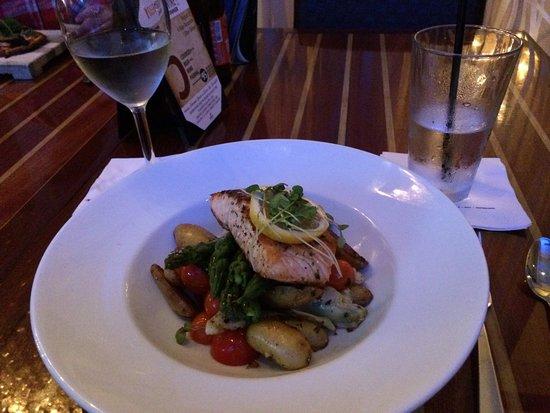 Coastal Kitchen & Bar: my excellent salmon salad