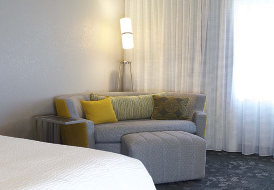 Arden, NC: Guest Room Seating Area at our Asheville, NC airport hotel