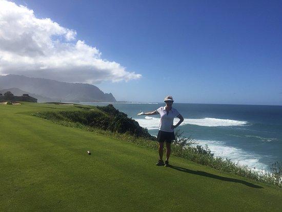 Princeville Makai Golf Club : Makai Golf Course view from #6/7