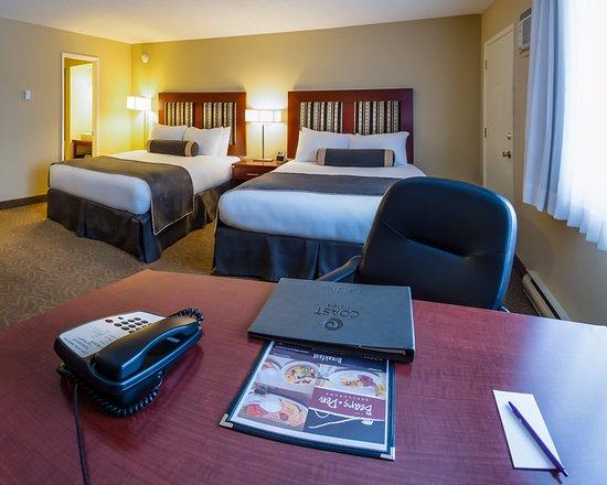 Coast Penticton Hotel : Comfort Room - 2 Queens