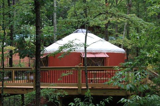 Long Creek, ساوث كارولينا: Chattooga Bunkhouse Yurt