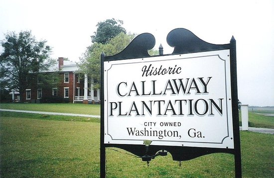 Washington, GA: Come to Callaway for a fantastic tour, take a step back in time when you visit Callaway Plantati