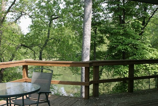 Long Creek, SC: Chattooga Cottage Deck