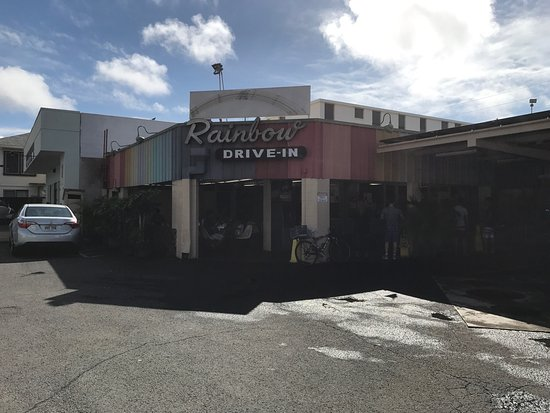Photo of American Restaurant Rainbow Drive-In at 3308 Kanaina Ave, Honolulu, HI 96815, United States