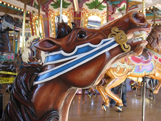Fort Edmonton Park: Ride the painted pony