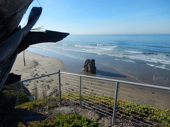 vue sur la côte, sud
