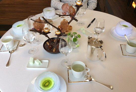 Hostellerie de Plaisance: Repas