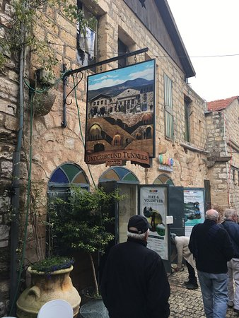 Safed, Israel: The entrance to Tzfat Visitor Center.