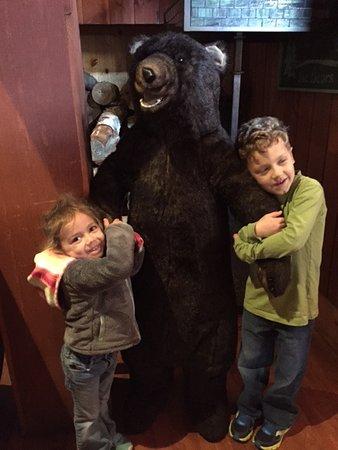 Woodstock, NH: LOVE the BEAR