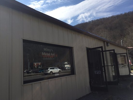 Cumberland Gap, Τενεσί: Metal Art Studio and Shop at Mitty's
