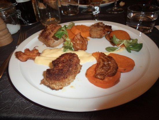 Atelier M Restaurant: filet mignon porc mayonnaise aux agrumes