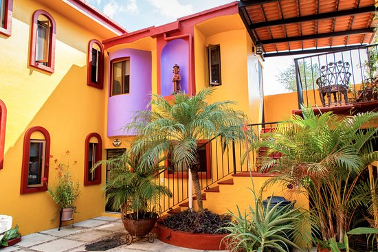 Ajijic Suites: Courtyard