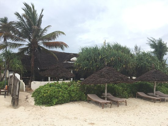 Zanzibar Retreat Hotel: Hotel entrance from the beach