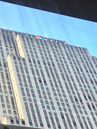The Jewel facing Rockefeller Center: View from room on 15th floor