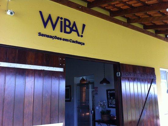 Torre de Pedra, SP: Entrada do Alambique da Cachaça WIBA!