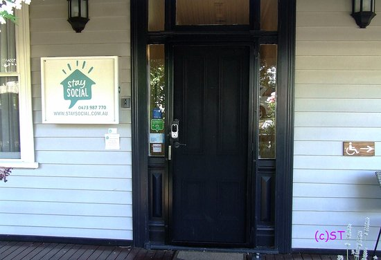 Front Door With Electronic Lock Picture Of Stay Social Bendigo