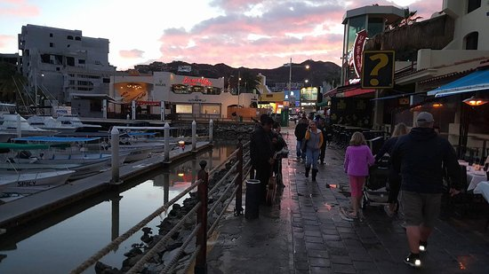 Marina Cabo San Lucas: Marina after the storm (and sewage back up)
