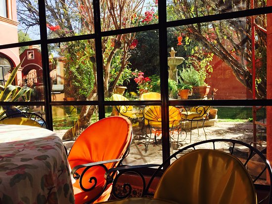 ‪‪Casa de la O‬: View from the breakfast table on a February morning!‬