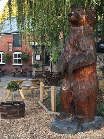 The Jack Mytton Inn: Our famous Nell.