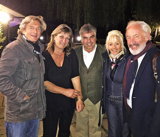 The Jack Mytton Inn: Our Celebrity Carry on Barging Guests Simon Callow , Debbie McGee, Nigel Havers