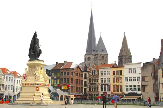 Photo of Monument / Landmark Vrijdagmarkt at Vrijdagmarkt, Ghent 9000, Belgium