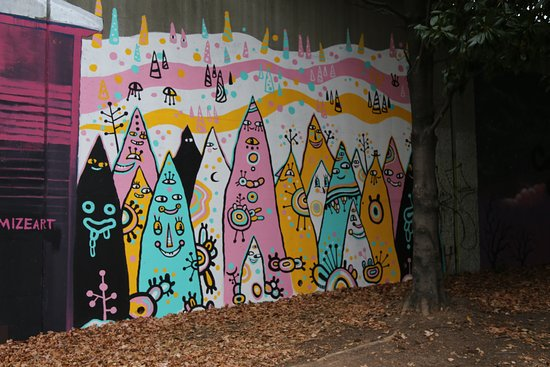 where the wild things are Picture of Krog Street Tunnel Atlanta