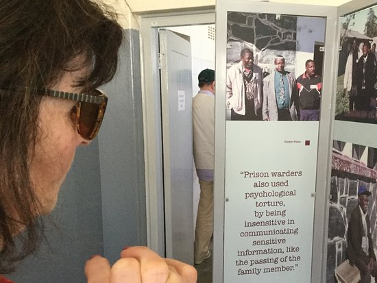 Ciudad del Cabo Central, Sudáfrica: How the prisoners were treated