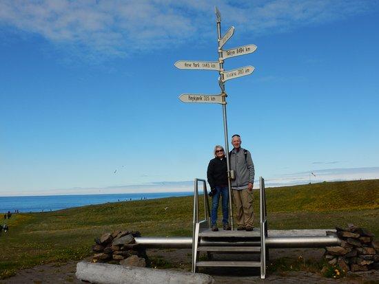 Grimsey Island, Iceland: Arctic Circle