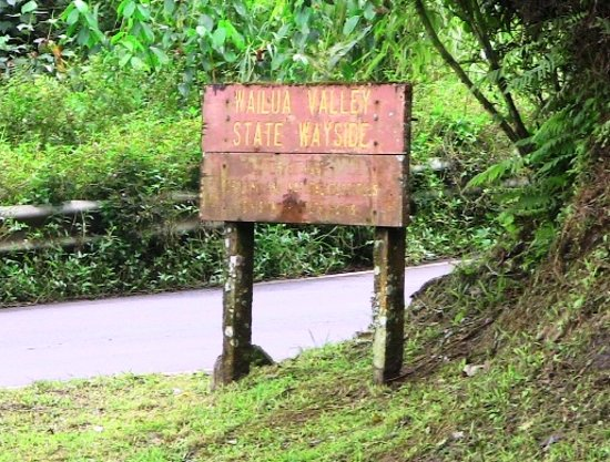 Kula, Havai: Sign from road