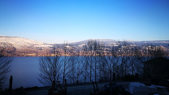 Summerland, Canada: view from winery