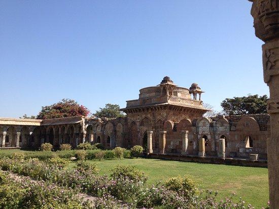 Champaner, Indien: The garden