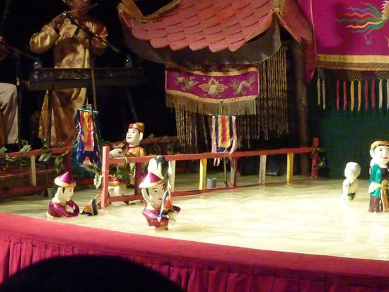 Golden Dragon Water Puppet Theater: One of the Puppets at the Water Puppet Theatre