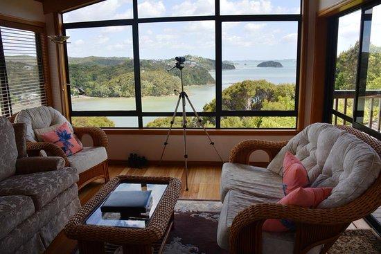 Opua, นิวซีแลนด์: The lounge.