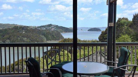 Opua, Nuova Zelanda: On the deck .