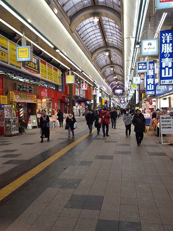 Sapporo, Giappone: covered shopping