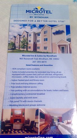 Microtel by Wyndham, in Windham.