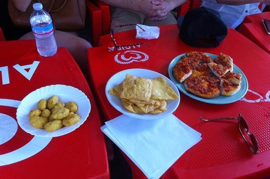 Palermo Walking Tour och Street Food