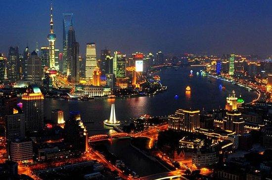 Wasserstadt Zhujiajiao mit Bootstour...