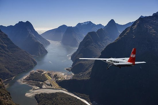 Milford Sound Walking Tour with Round-Trip Scenic Flight from...