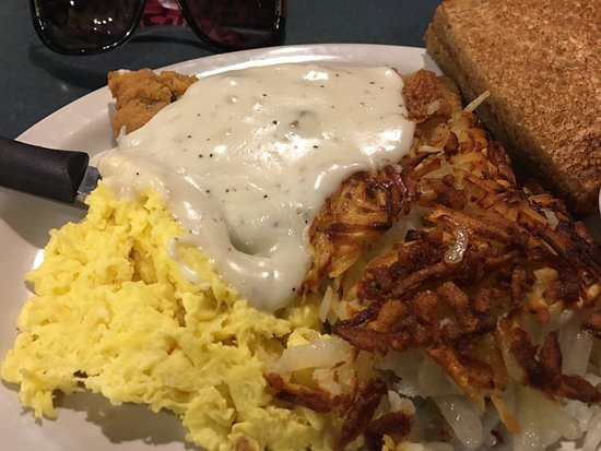 Main Street Overeasy: Country fried Steak